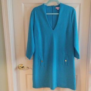Lilly Pulitzer Ariel Blue Charlena Shift Dress